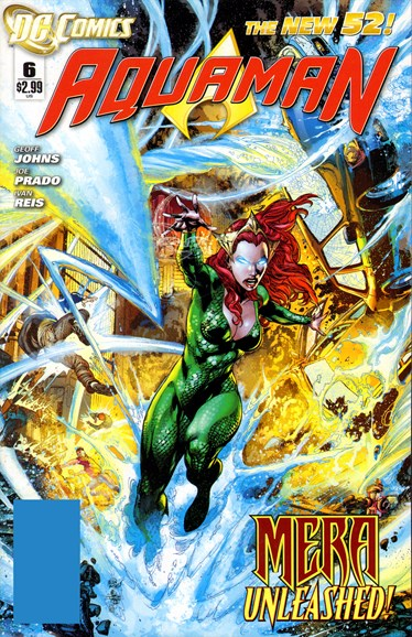 Aquaman Cover - 4/30/2012