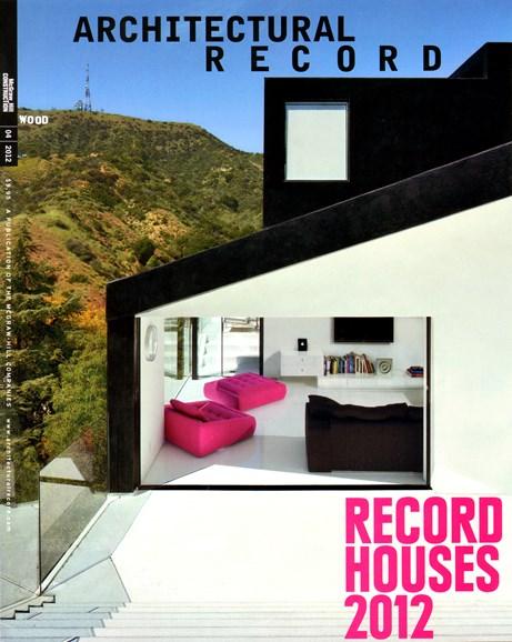 Architectural Record Cover - 4/1/2012