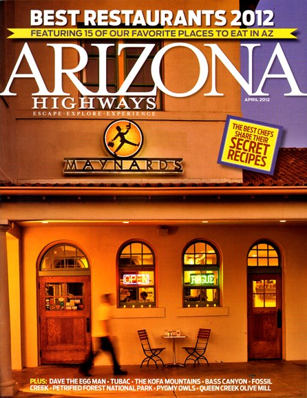 Arizona Highways Cover - 4/30/2012