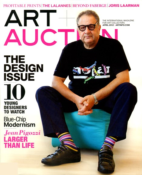 Blouin Art & Auction Cover - 4/30/2012