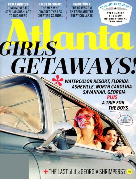 Atlanta Magazine Cover - 4/1/2012
