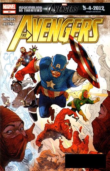 Avengers Cover - 4/1/2012