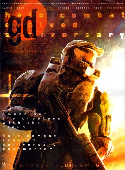 Game Developer Cover - 3/1/2012