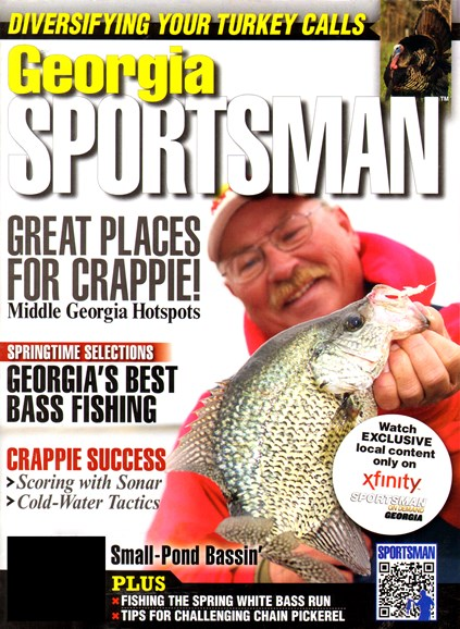 Georgia Sportsman Cover - 3/1/2012