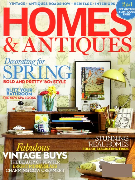 Homes & Antiques Cover - 3/1/2012