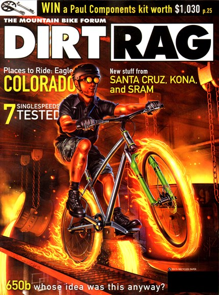 Dirt Rag Cover - 4/1/2012