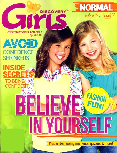 Discovery Girls Cover - 4/1/2012