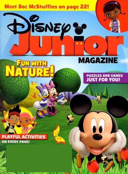 Disney Junior Cover - 4/1/2012
