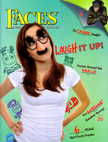 Faces Cover - 4/1/2012