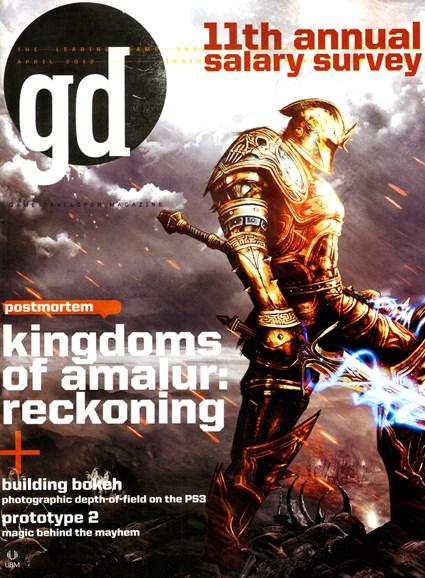 Game Developer Cover - 4/1/2012