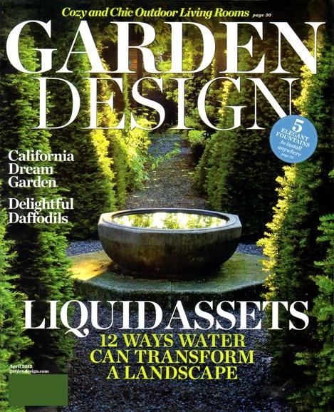 Garden Design Cover - 4/1/2012