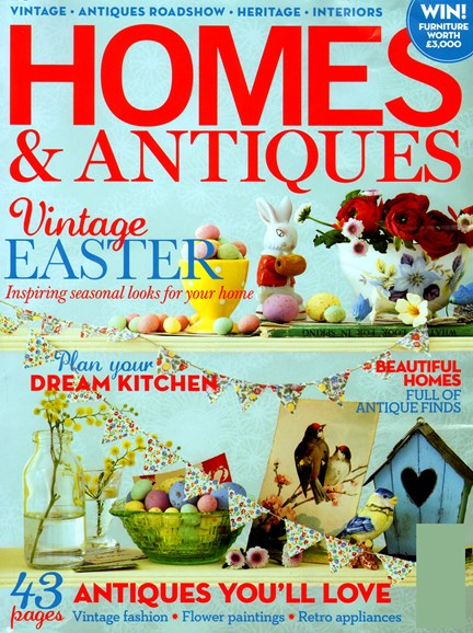 Homes & Antiques Cover - 4/1/2012
