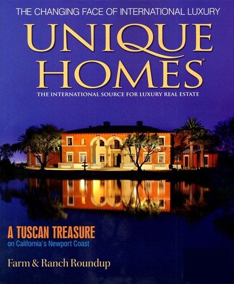 Unique Homes Cover - 4/1/2012