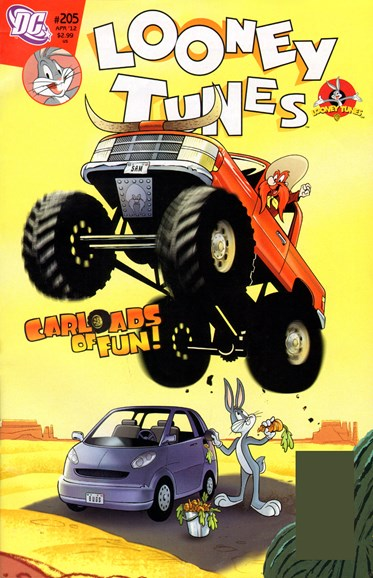 Looney Tunes Cover - 4/1/2012
