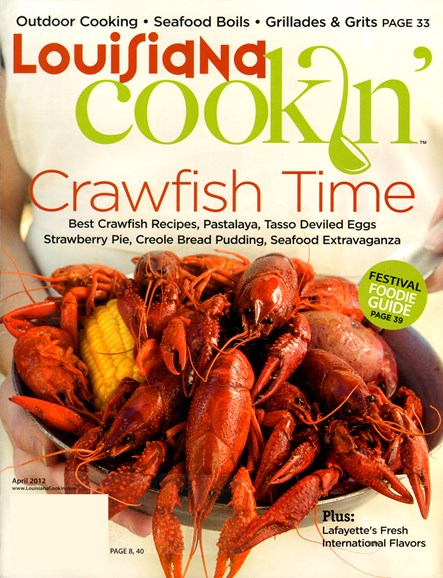 Louisiana Cookin' Cover - 4/1/2012