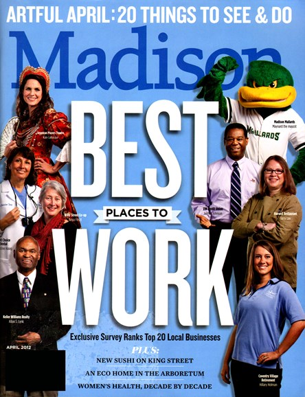 Madison Magazine Cover - 4/1/2012