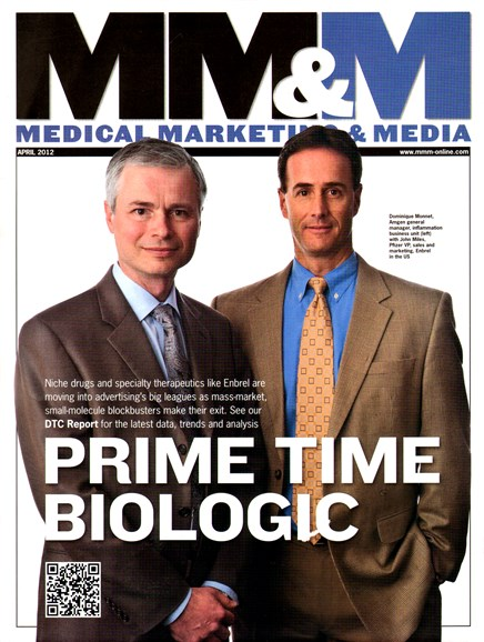 Medical Marketing & Media Cover - 4/1/2012