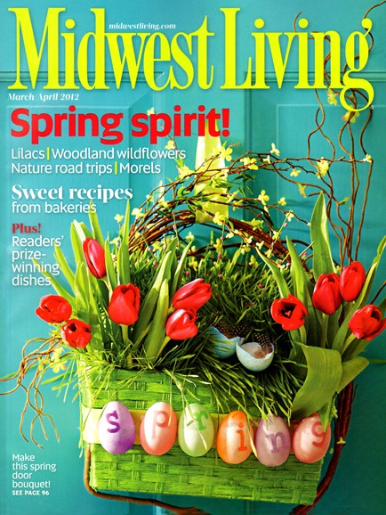 Midwest Living Cover - 3/1/2012