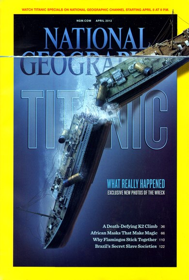 National Geographic Cover - 4/1/2012