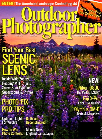 Outdoor Photographer Cover - 4/1/2012