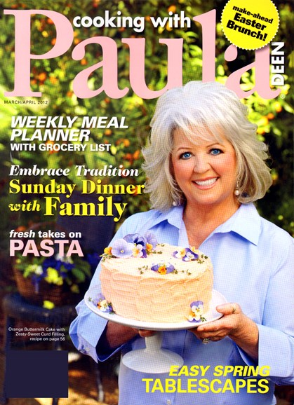 Cooking With Paula Deen Cover - 3/1/2012