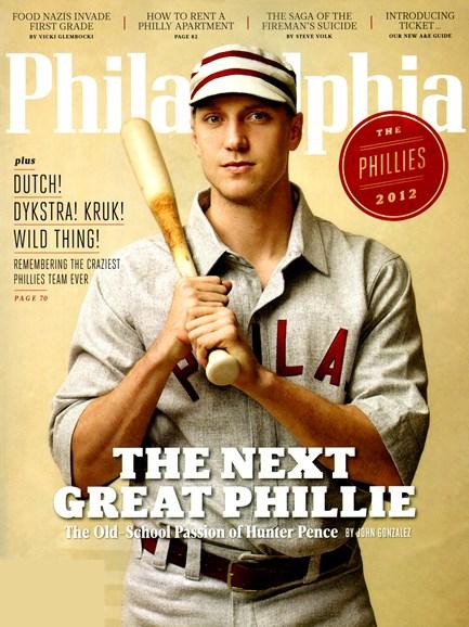 Philadelphia Magazine Cover - 4/1/2012