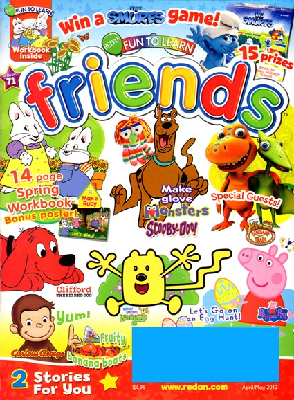 Preschool Friends Cover - 4/1/2012