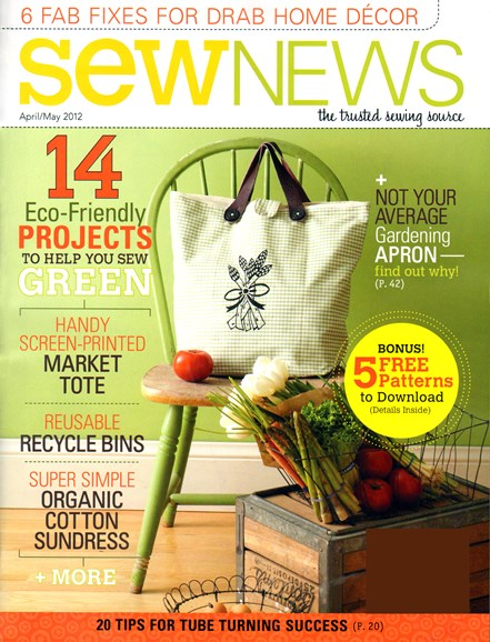 Sew News Cover - 4/1/2012