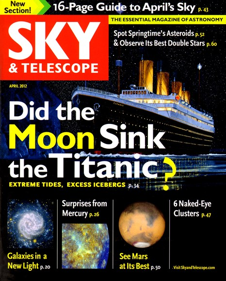 Sky & Telescope Cover - 4/1/2012