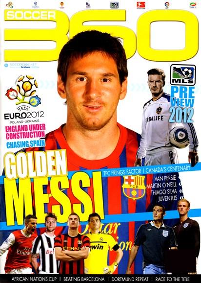 Soccer 360 Cover - 4/1/2012