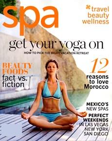 Spa Magazine   3/2012 Cover
