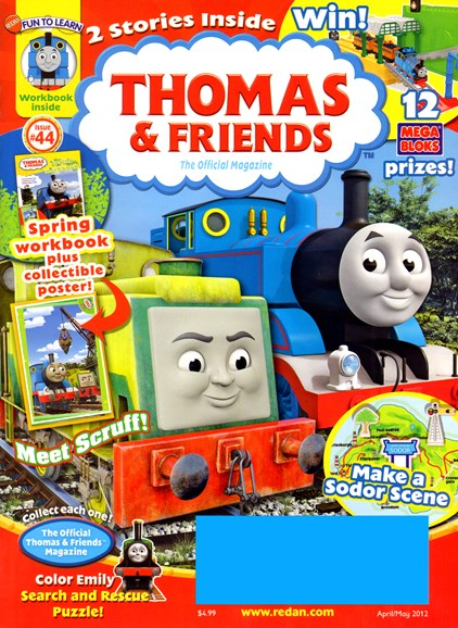 Thomas & Friends Cover - 4/1/2012
