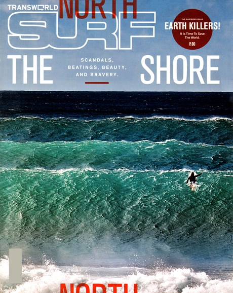 Transworld SURF Cover - 4/1/2012