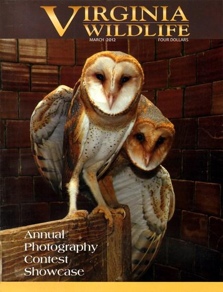 Virginia Wildlife Cover - 3/1/2012