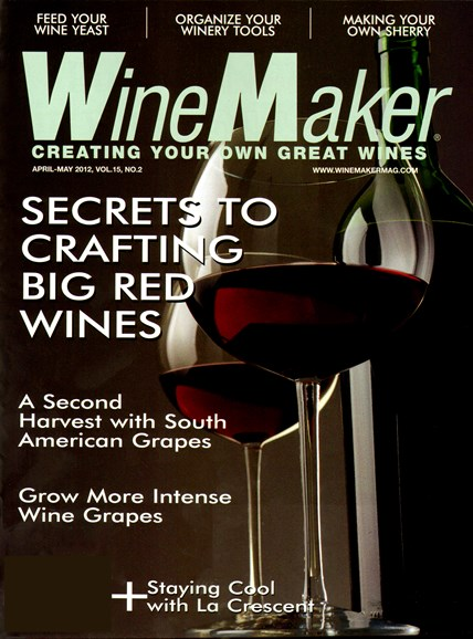 Winemaker Cover - 4/1/2012