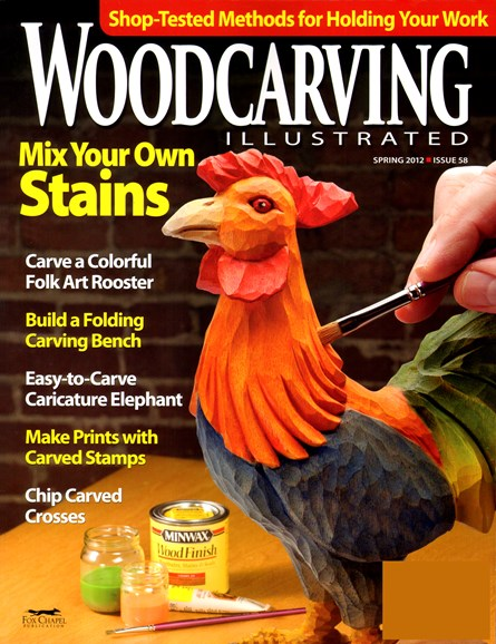 Wood Carving Illustrated Cover - 3/1/2012
