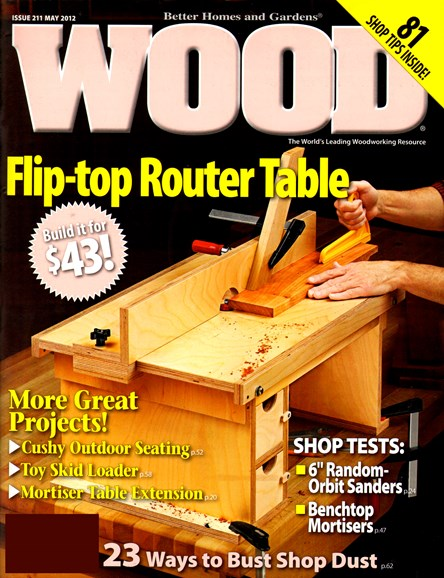 Wood Cover - 5/1/2012