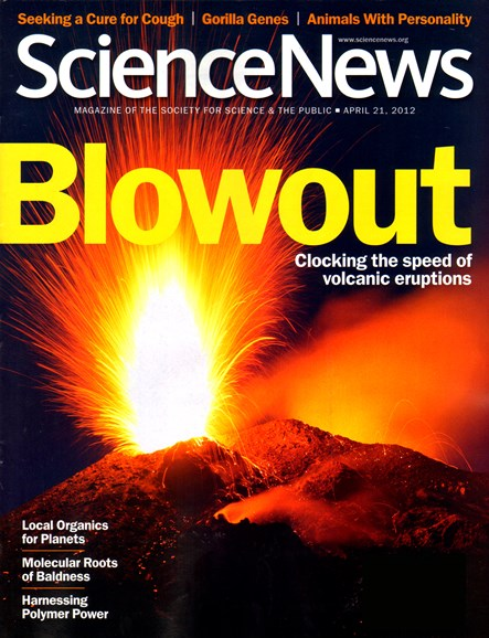 Science News Cover - 4/21/2012