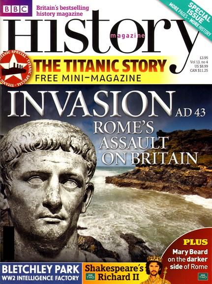 BBC History Cover - 4/1/2012