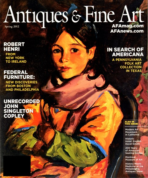 Antiques & Fine Art Cover - 3/1/2012