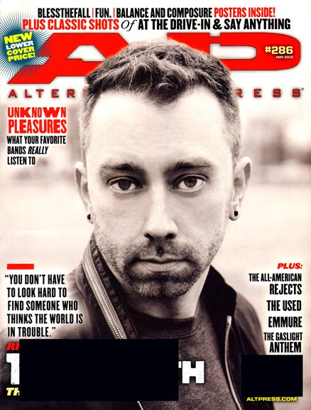 Alternative Press Cover - 5/1/2012