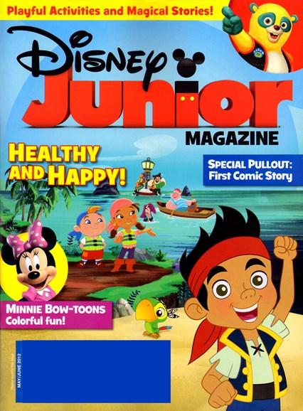 Disney Junior Cover - 5/1/2012