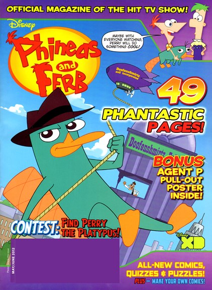 Disney Phineas & Ferb Cover - 5/1/2012