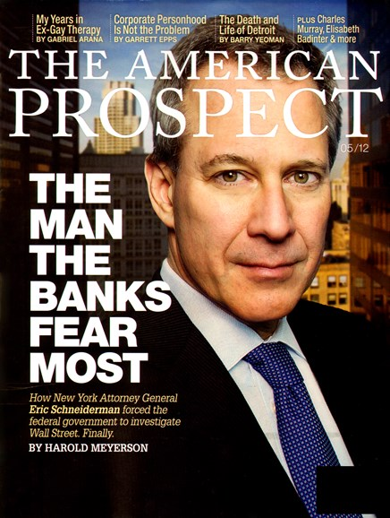 The American Prospect Cover - 5/1/2012