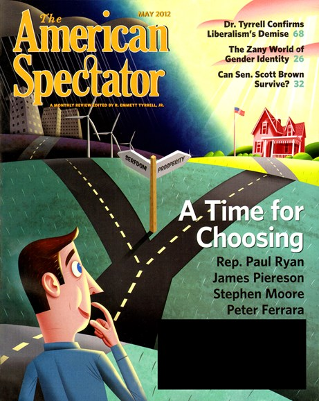 The American Spectator Cover - 5/1/2012