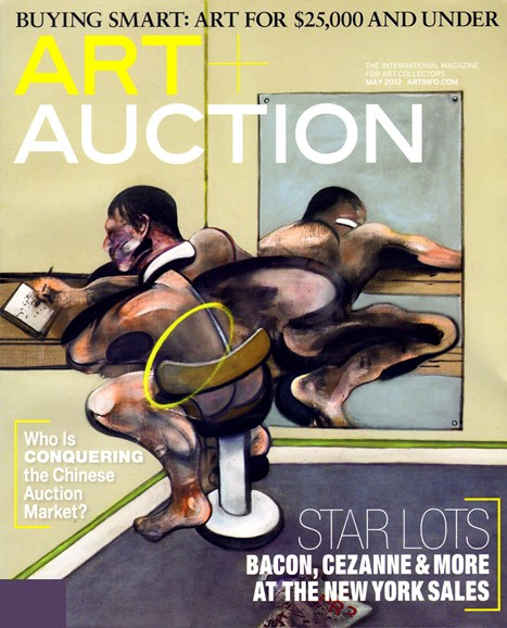 Blouin Art & Auction Cover - 5/1/2012