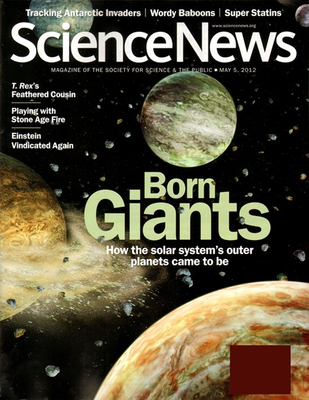 Science News Cover - 5/1/2012
