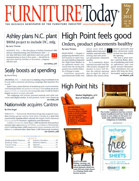 Furniture/Today Cover - 5/7/2012