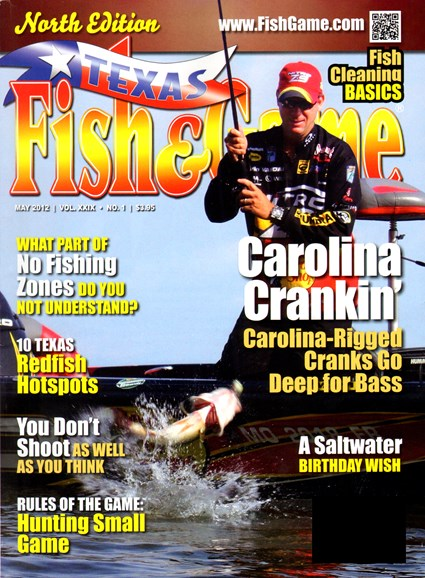 Texas Fish & Game Cover - 5/1/2012
