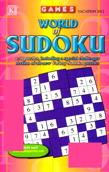 World Of Sudoku Cover - 5/1/2012